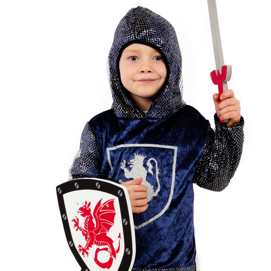 Crusader Knight Costume -Kids Knight Costume -Time to Dress up