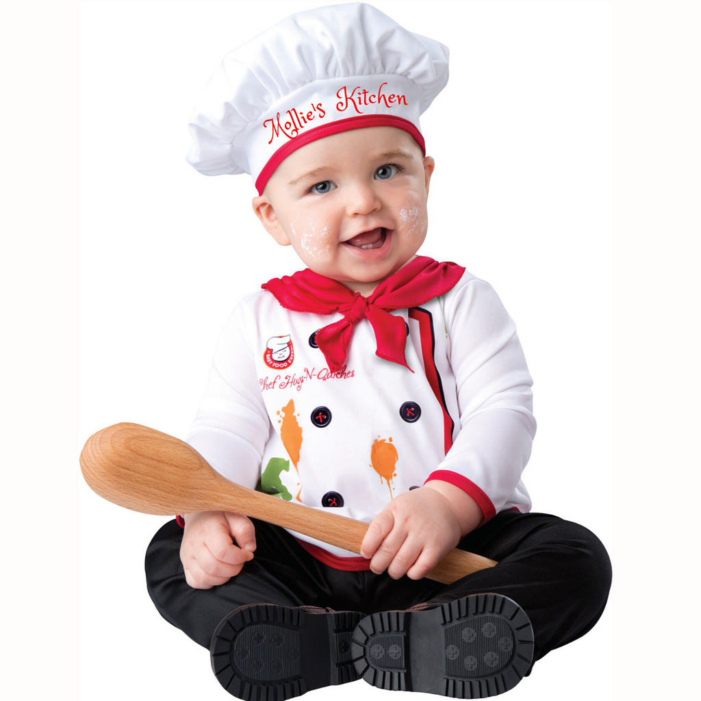 Baby Chef Costume-Personalised