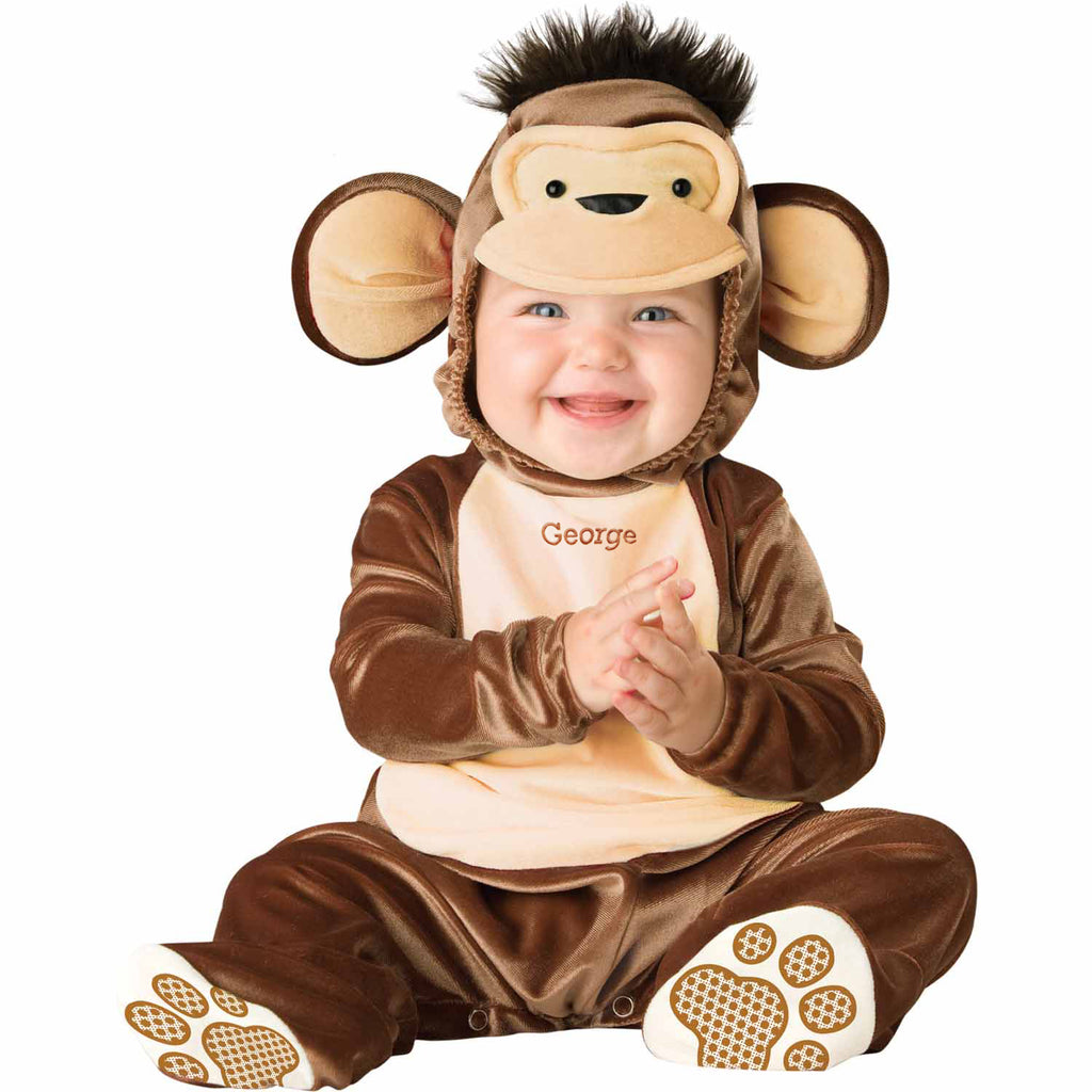 Personalised Baby Monkey Costume- Miscievous Monkey-Time to Dress Up