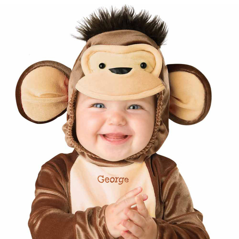Personalised Baby Monkey Costume- Miscievous Monkey-Time to Dress Up 2