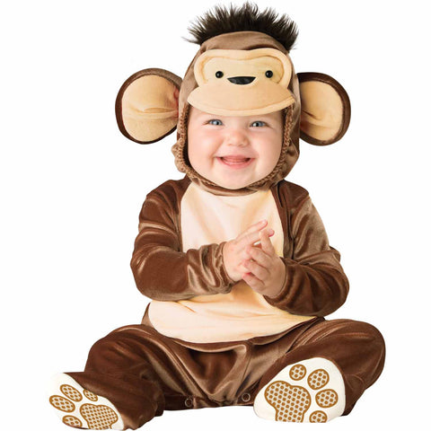 Monkey Baby Fancy Dress Costume