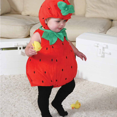 Strawberry Baby Fancy Dress Costume