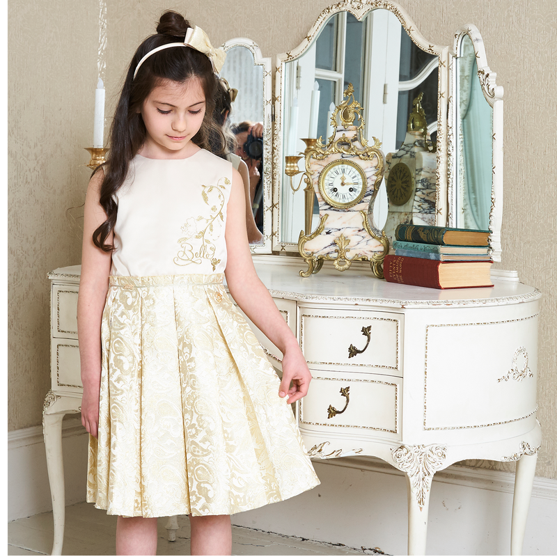 Belle Princess Dress- Party Dress- Disney Boutique