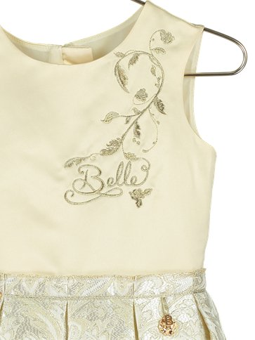 Belle Princess Dress- Party Dress- Disney Boutique -embroidery details