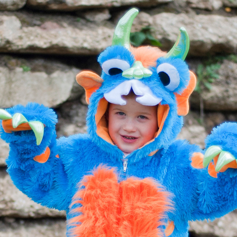 Children's Big Blue Monster Costume , Baby Costume - Travis Designs, Ayshea Elliott 2