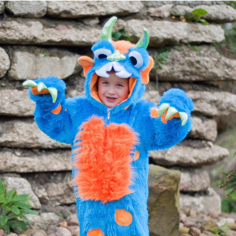 Children's Big Blue Monster Dress Up , Baby Costume - Travis Designs