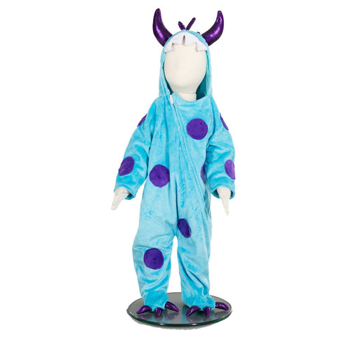 Big Blue Monster Baby Fancy Dress Costume