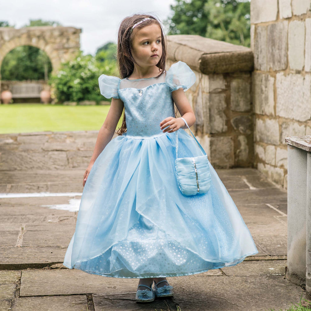 Children's Blue Shimmer Princess Dress , Children's Costume - Travis Designs, Ayshea Elliott