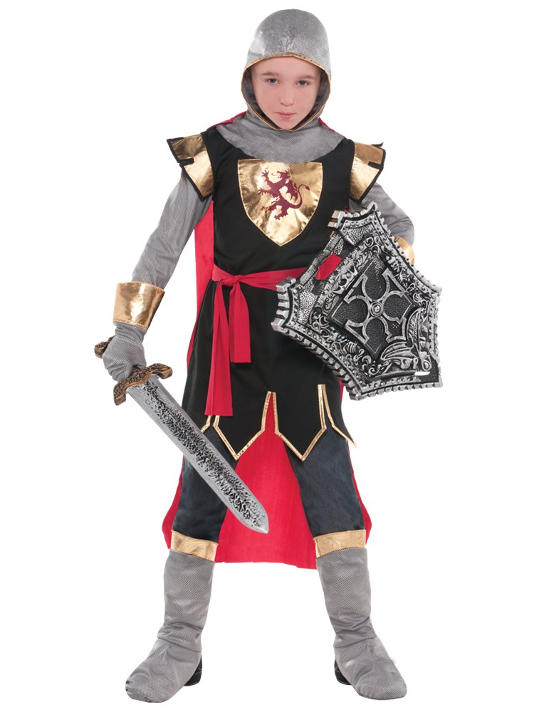 Brave Crusader Kids Knight Costume