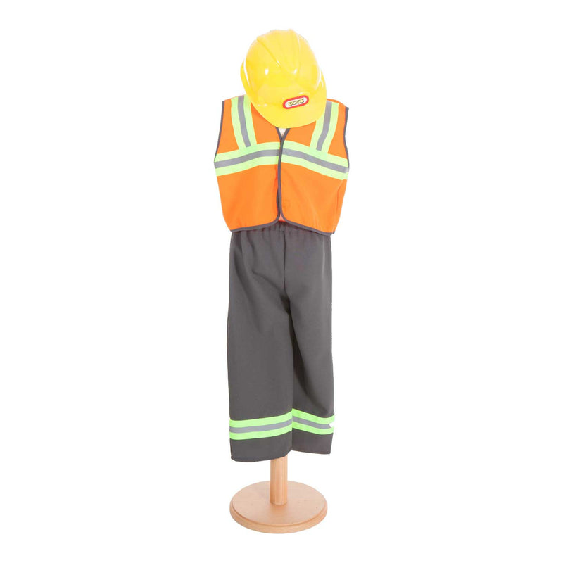 Children's Construction Worker Costume- Builder Costume -- Time to Dress Up- Pretend to Bee, Ayshea Elliott