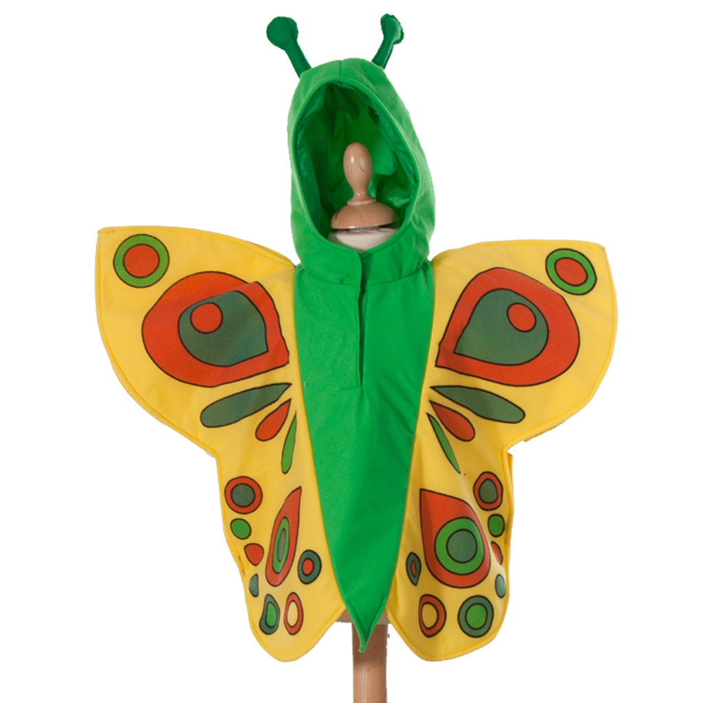 Butterfly  Costume- Tabard- Time to Dress Up- Yellow , Children's Costume - Pretend to Bee, Ayshea Elliott - 1