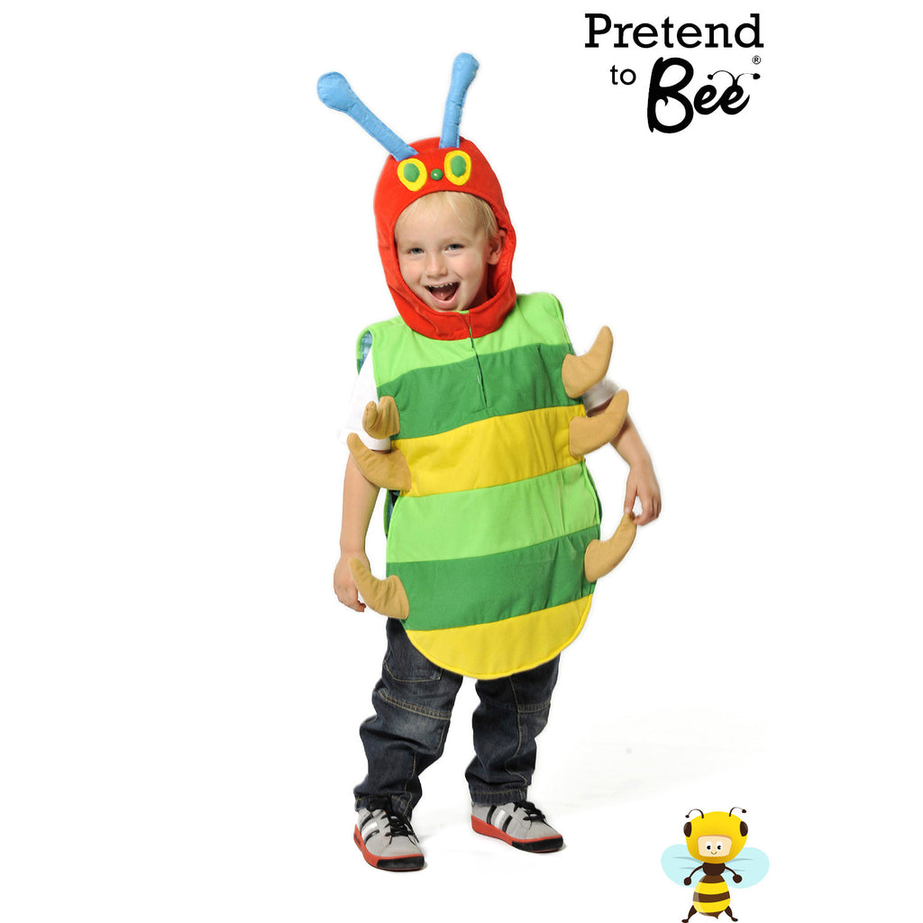 Children's Caterpillar Costume , Children's Costume - Pretend to Bee, Ayshea Elliott - 3