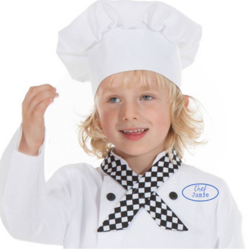 Children's Chef Costume - personalised