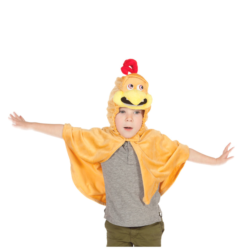 Children's Chicken Costume- Fancy Dress for Kids - Time to Dress Up
