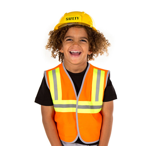 Children's Construction Worker Costume- Builder Costume -- Time to Dress Up 2