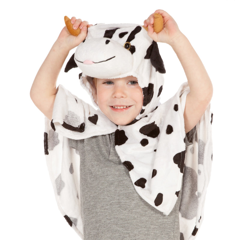 Children's Cow Dress Up Cape , Cow Costume -Children's Costume- Pretend to Bee, Ayshea Elliott 3