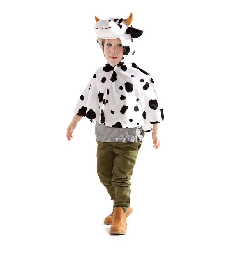 Children's Cow Dress Up Cape