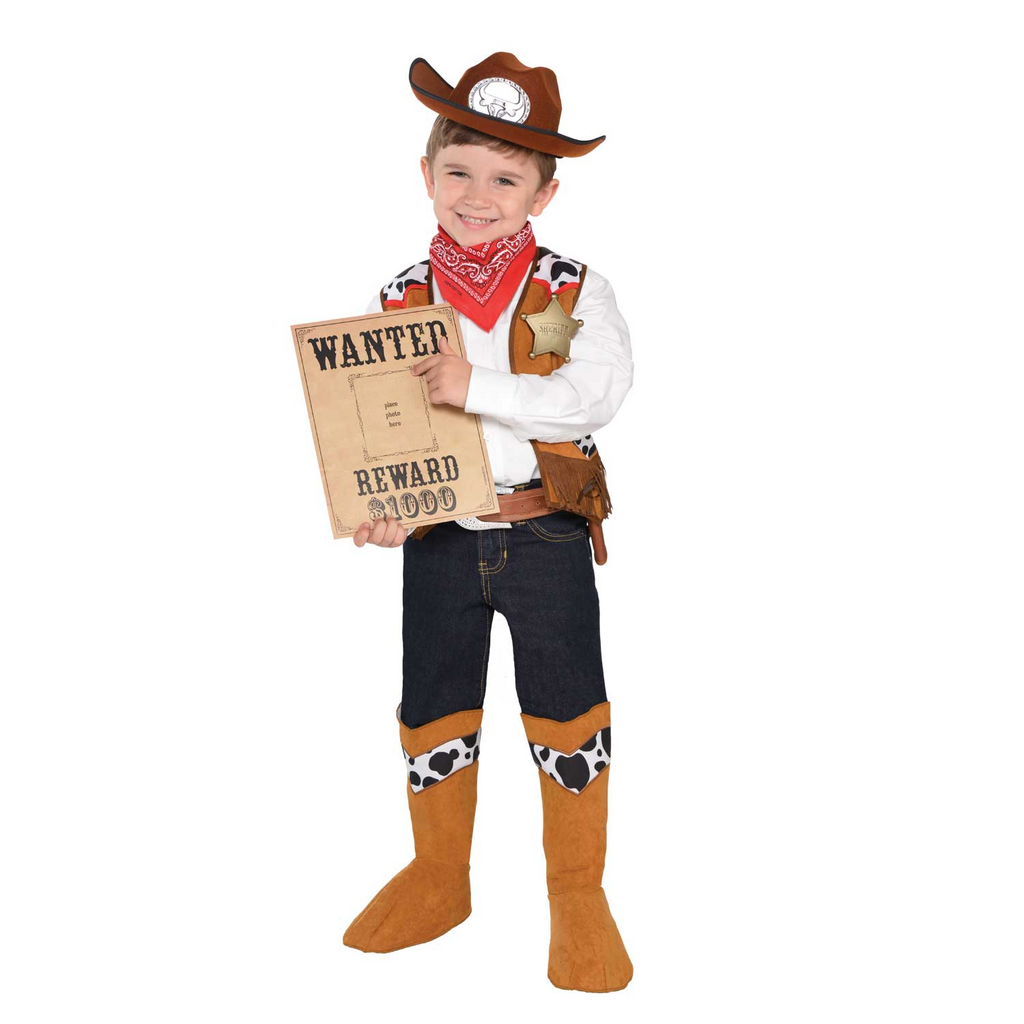 Kid's Cowboy Costume- Children's Costume -Time to Dress up 2