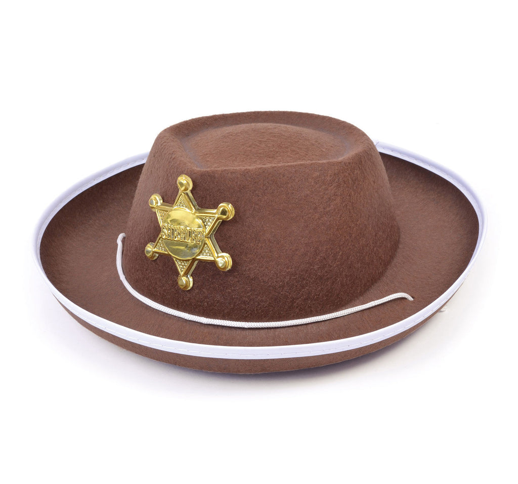 Cowboy Hat with Badge