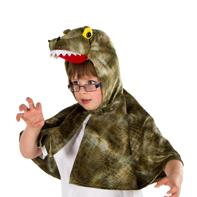 Children's Crocodile Fancy Dress Cape- Children's Dress Up- Pretend to Bee