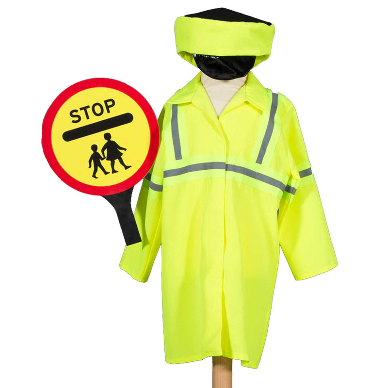 Children's Crossing Patrol Costume , Lollipo Lady, Children's Costume - Pretend to Bee, Ayshea Elliott