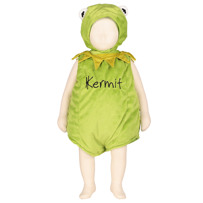 Kermit the Frog Baby Fancy Dress Costume - Official Disney , Baby Costume - Time to Dress Up, Ayshea Elliott  - 2