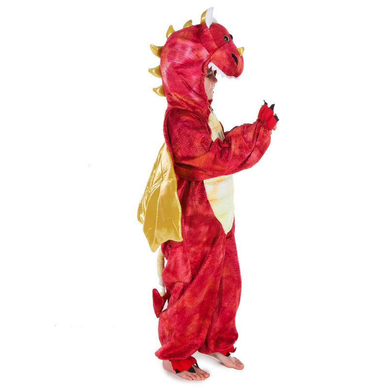Children's Red Dragon Dress Up Costume , Children's Costume - Pretend to Bee, Ayshea Elliott  - 2