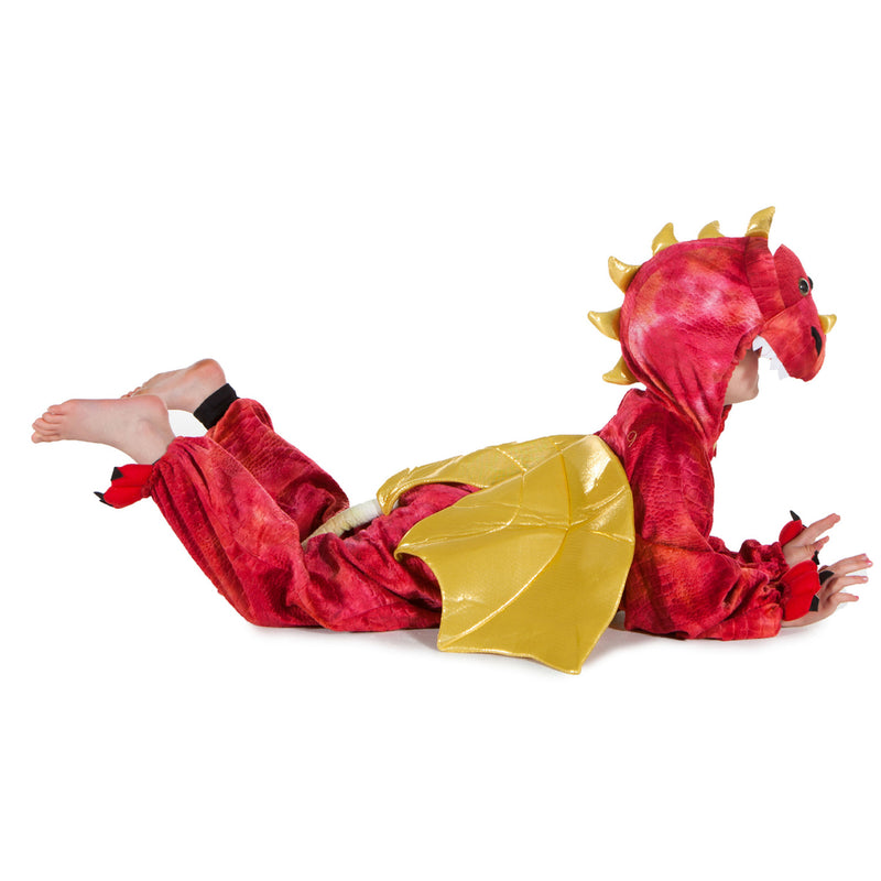 Children's Red Dragon Dress Up Costume , Children's Costume - Pretend to Bee, Ayshea Elliott  - 3