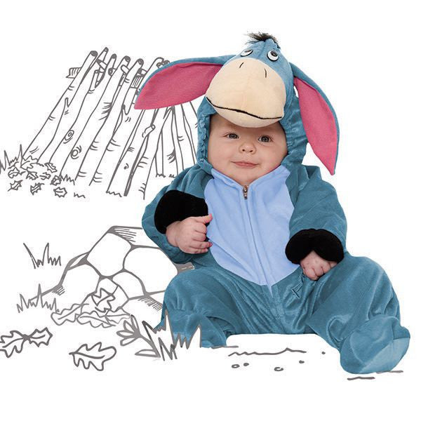 Eeyore Baby Fancy Dress Costume - Official Disney , Baby Costume - Time to Dress Up, Ayshea Elliott  - 1