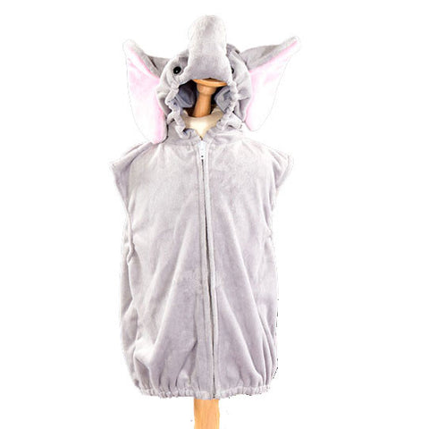 Children's Elephant Fancy Dress Zip Top