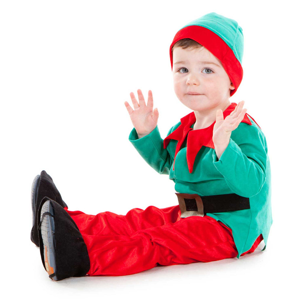 Children's Little Elf Dress Up Costume , Kids Elf Costume. Children's Costume - Pretend to Bee, Ayshea Elliott - 1