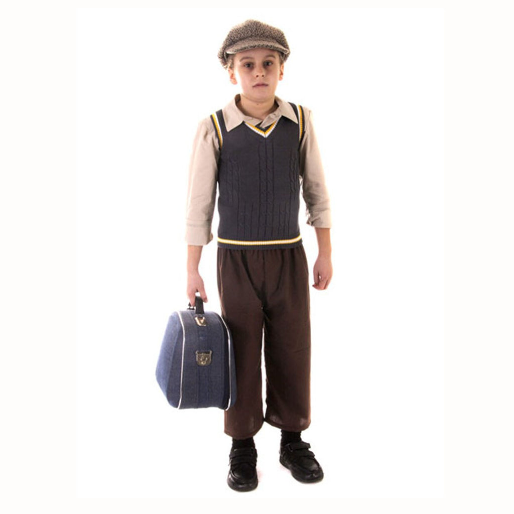 WW2 Evacuee Boy  Fancy Dress Costume