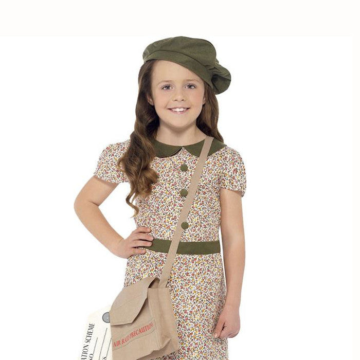 WW2 Evacuee Girl  Fancy Dress Costume