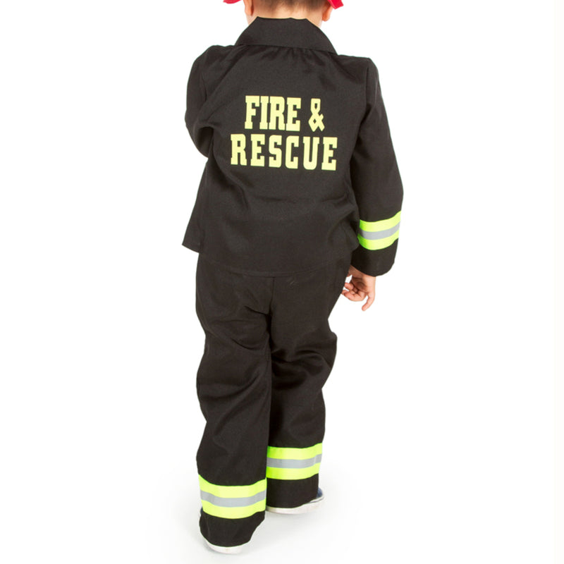 Personalised Children's Fire Fighter/ Fireman Costume