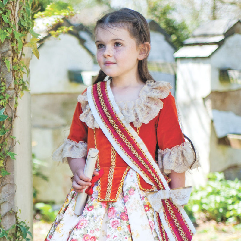 Children's Floral Princess Dress Up Costume , Children's Costume - Travis Designs