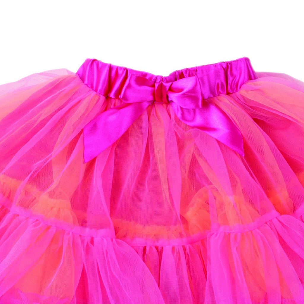 Children's Frothy Tutu - Orange and Cerise , Accessories - Travis Designs