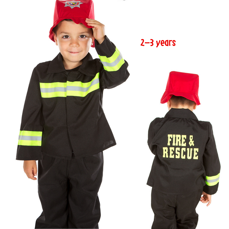 Children's Fire Fighter/ Fireman Costume