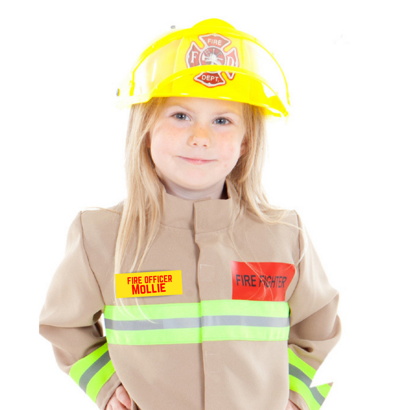 Fire & Rescue Officer Costume -personalised