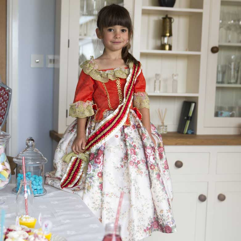 Children's Floral Princess Dress Up Costume , Children's Costume - Travis Designs, Ayshea Elliott - 3