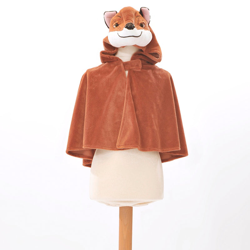 Children's Fox Fancy Dress Cape-Fox Costume - Children's Costume-Pretend to Bee 3
