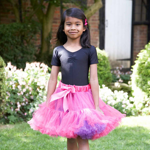 Children's Frothy Tutu - Cerise and Violet