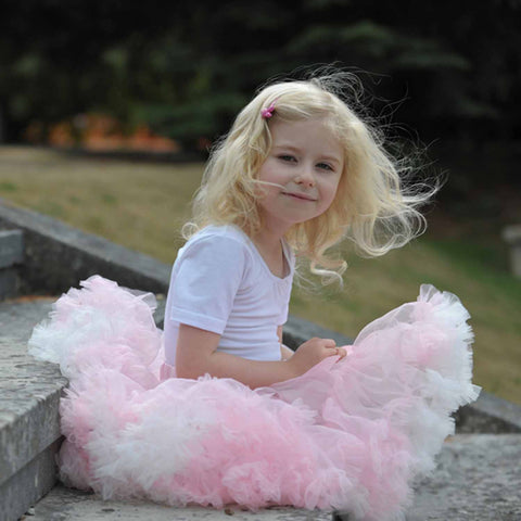 Children's Frothy Tutu - Pink and Cream