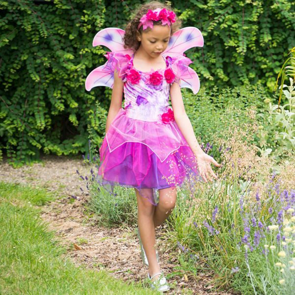 Children's Fuchsia Fairy Dress Up , Children's Costume - Travis Designs, Ayshea Elliott  - 4