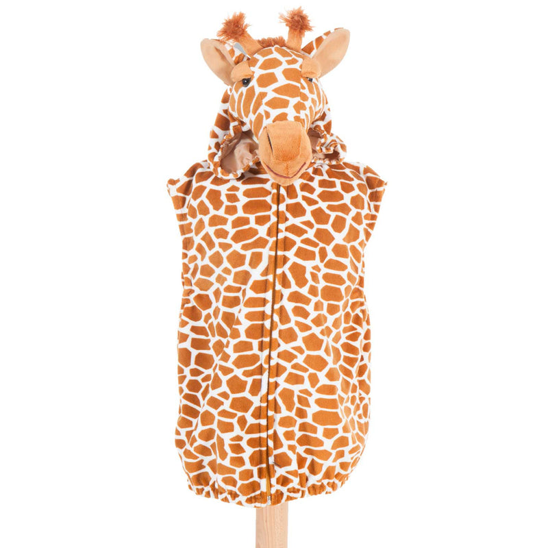 Children's Giraffe Fancy Dress Zip Top , Giraffe Caotume -Children's Costume - Pretend to Bee, Ayshea Elliott - 1