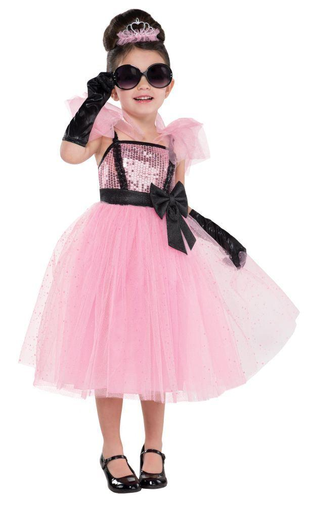 Glamourous Pink Princess Dress -Children's Costume