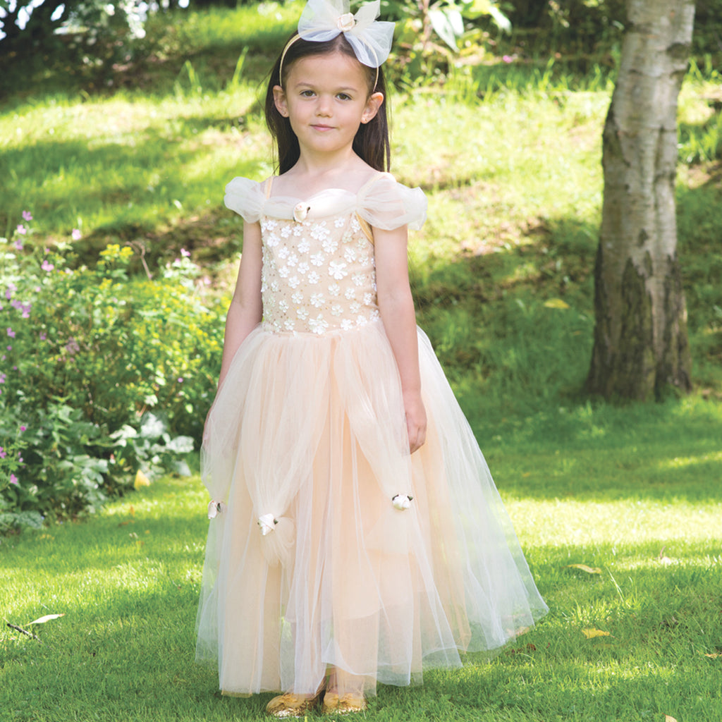 Golden Princess Dress Up Costume , Children's Costume - Travis Designs