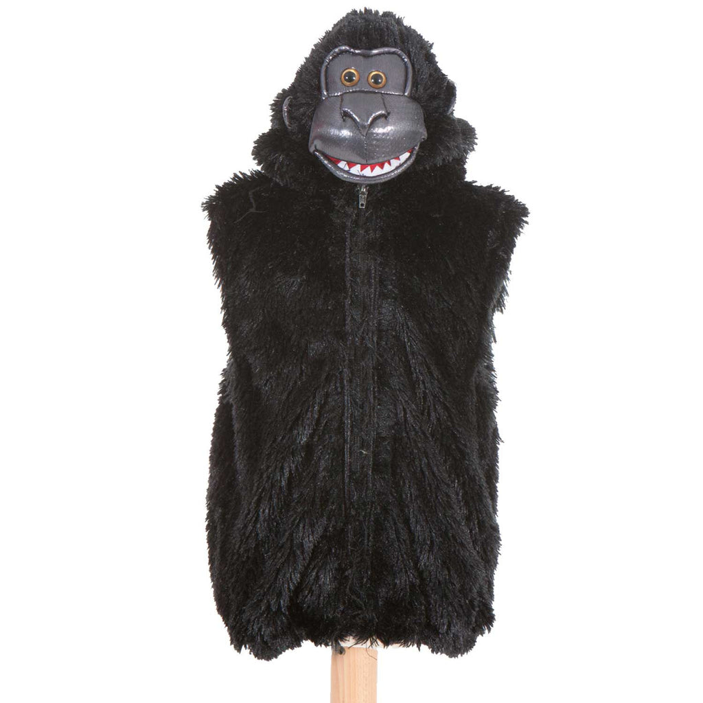 Children's Gorilla  Zip Top , Gorilla Costume, Children's Costume - Pretend to Bee, Ayshea Elliott - 1