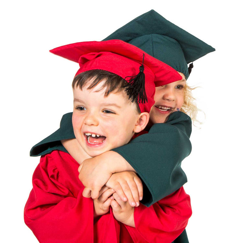 Children's Graduation Gown -Children's Costume -Gown with Mortar Board