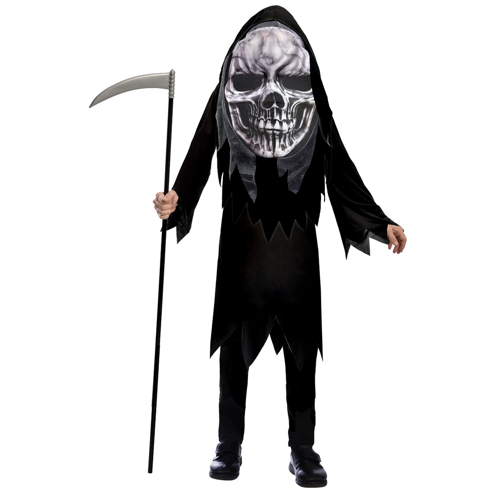 Scary Grim Reaper Big Head Costume
