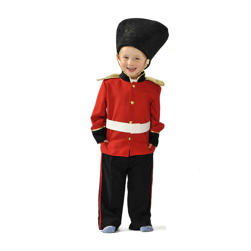 Children's Guardsman Fancy Dress Costume - Pretend Play Costume -Time to Dress Up